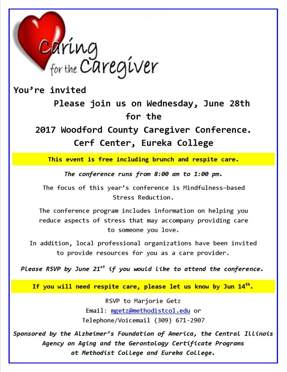 Woodford county caregiver conference httpciaoa search form xflitez Choice Image